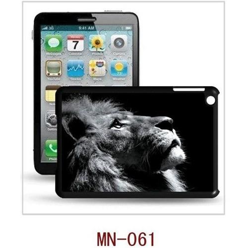 I-Techgear iPad Mini 1/2/3 - 3D Hologramlı Aslan Arka Kapak (ITG-MN-061)