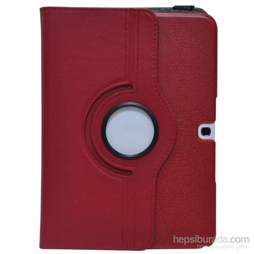 Classone Mila Samsung Tab4 T530 Kırmızı Tablet Kılıfı