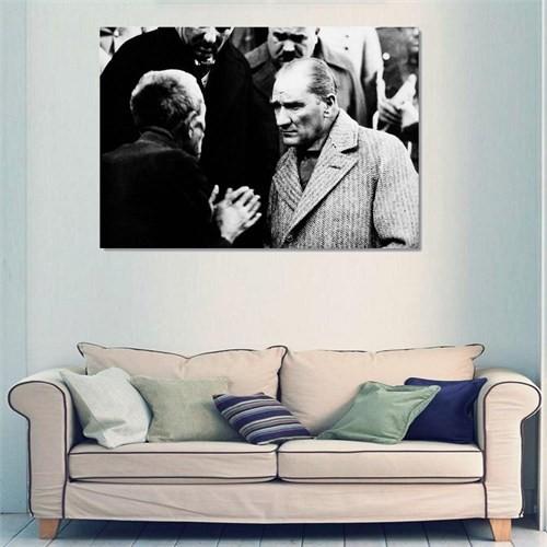 Tictac Atatürk - Kanvas Tablo - Büyük Boy