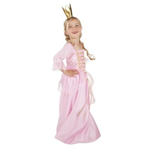 Parti Paketi Rüya Prensesi Kostüm Ve Taç Lüks 4-6 Y