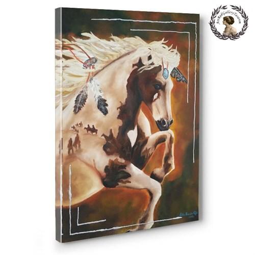 Artred Gallery 50X70 Yağlıboya Apaçi Atı Tablo