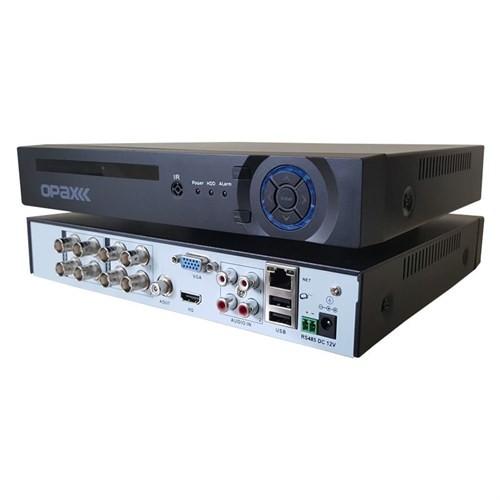 Opax Ahd-10008 8 Kanal 2 Hdd 1080P Ahd + Ip + Analog Ahd Kayıt Cihazı