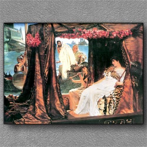 Tablom Cleopatra Ve Sezar Kanvas Tablo