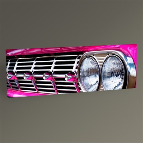Tablo 360 Close Up Of Classical Pink Car Tablo 60X20