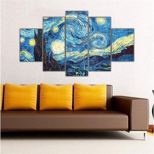 Ritmo Canvas Gece Fırtınası Canvas Tablo