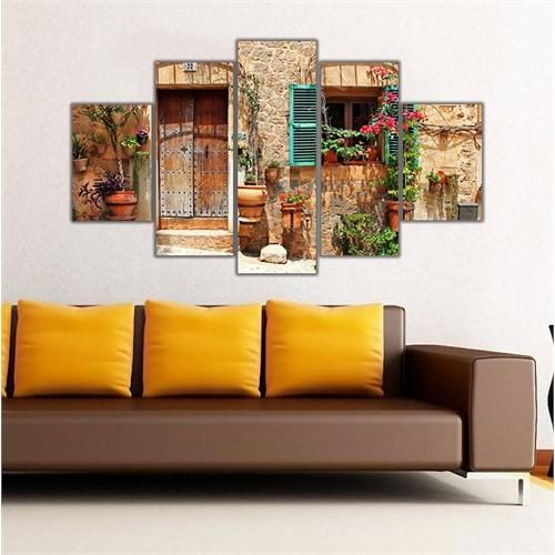 Ritmo Canvas Akdeniz Evleri Canvas Tablo