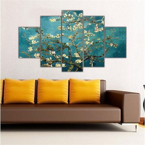 Ritmo Canvas Kır Çiçekleri Canvas Tablo