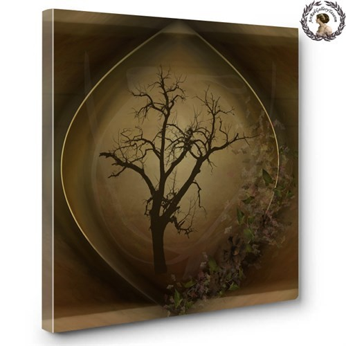 Artred Gallery Objeler Serisi Canvas Tablo60X60