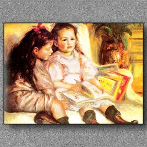 Tablom Kız Kardeşler Kanvas Tablo
