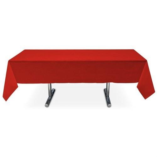 Pandoli Kırmızı Renk Plastik Parti Masa Örtüsü