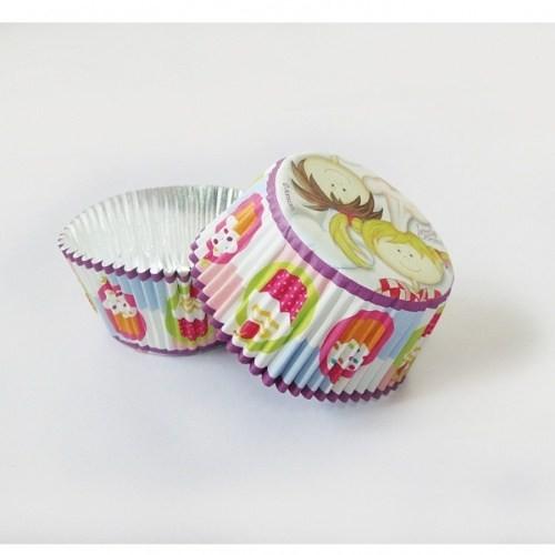 Parti Paketi Küçük Şefler Folyo Cupcake Kağıtları