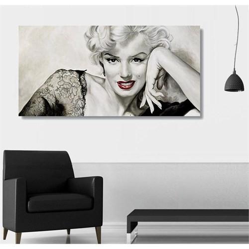Tictac Marilyn Kanvas Tablo - 50X100 Cm