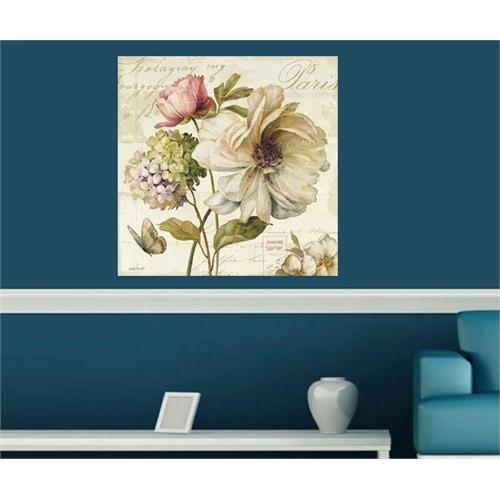 Artred Gallery Dekubaj Çiçek Tasarımlı Kanvas Tablo60X60