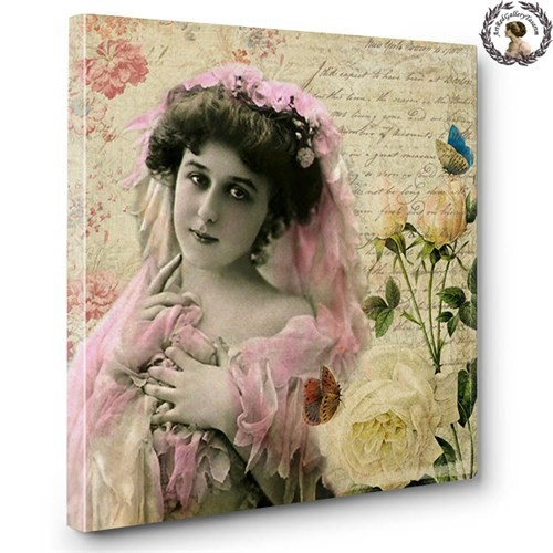 Artred Gallery Lady Serisi Canvas Tablo-560X60
