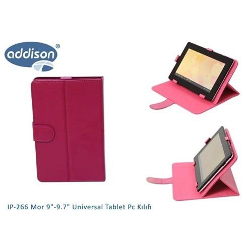 Addison Ip-266 Mor 9`-9.7` Universal Tablet Pc Kılıfı