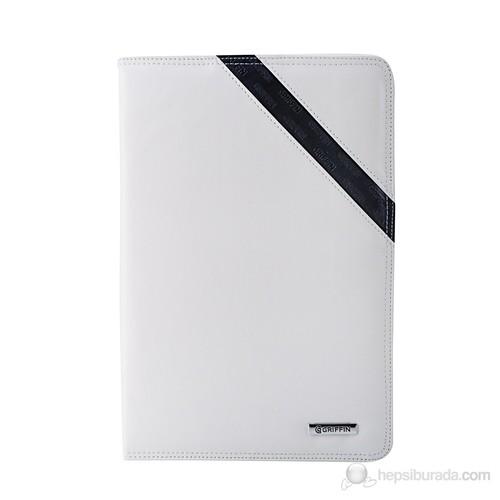 Griffin Galaxy Note 10.1 N8000 Passport Beyaz Deri Kılıf