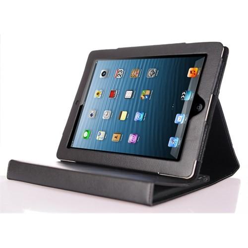 CoverZone iPad 2 Kılıfı Bluetooth Klavyeli Siyah