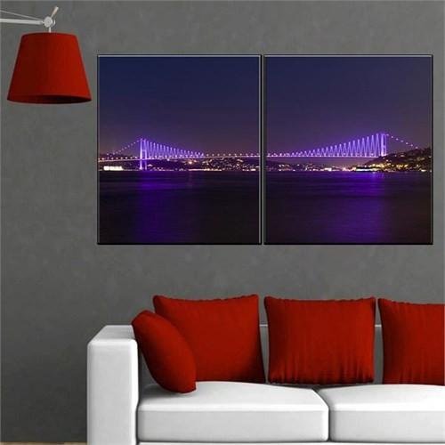 Canvastablom İ239 İstanbul-Köprü Canvas Tablo