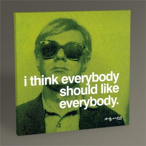 Tablo 360 Andy Warhol Everybody 30X30