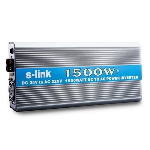 S-Link Sl-Inv2415 1500W Dc24v-Ac230v İnverter