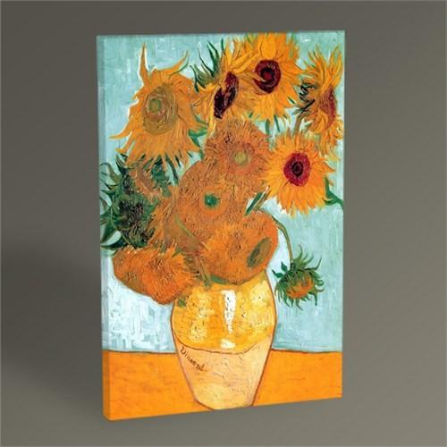 Tablo 360 Vincent Van Gogh Ayçiçekleri Tablo 45X30