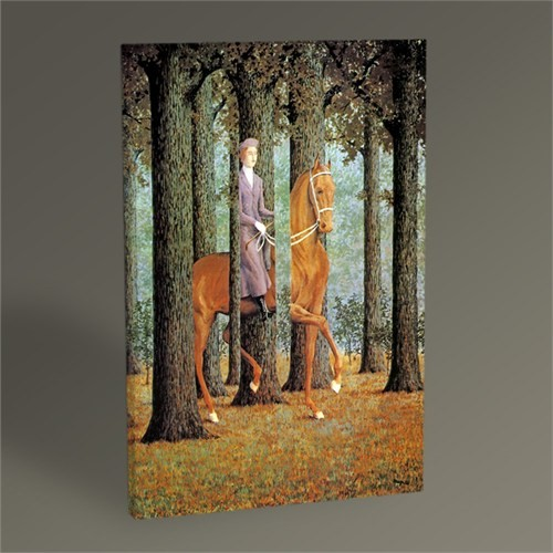 Tablo 360 Rene Magritte The Blank Cheque 45X30