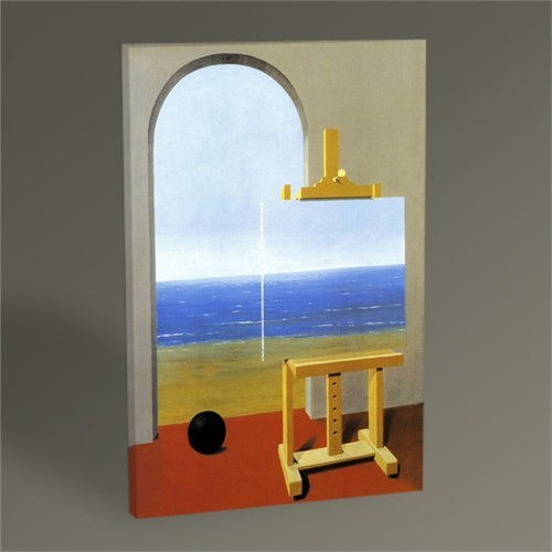 Tablo 360 Rene Magritte The Human Condition 45X30