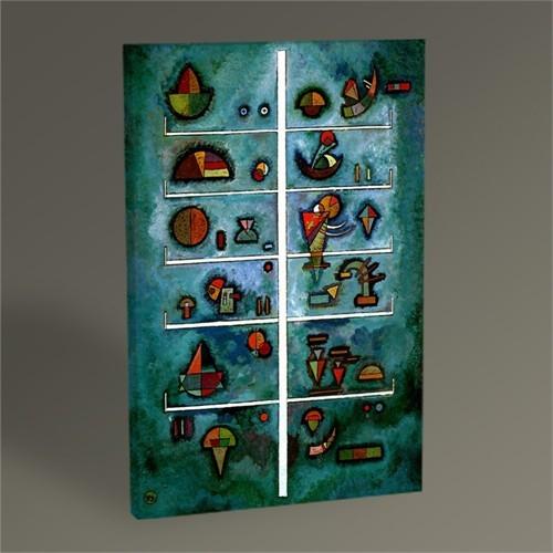 Tablo 360 Wassily Kandinsky Storeys Tablo 45X30
