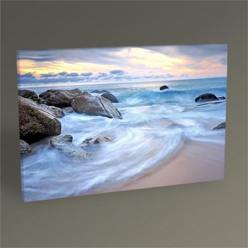 Tablo 360 Gün Batımı Ve Sahil Tablo 45X30