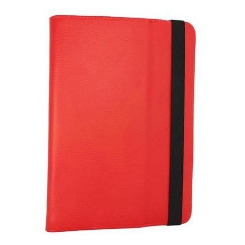 Markacase Tablet Universal 7.85 İnch Kartvizitlikli Standlı Kılıf Kırmızı