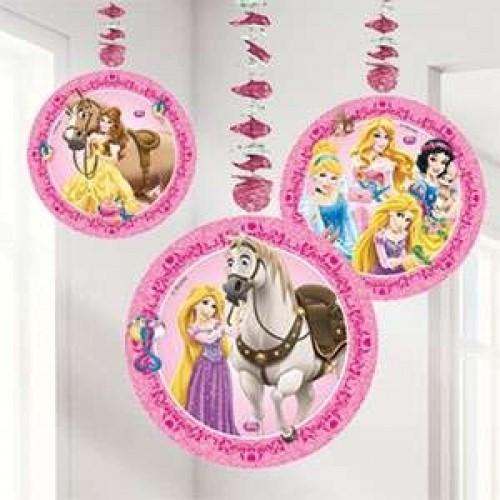 Parti Şöleni Prensesler Kedi Merdivenli İp Süs