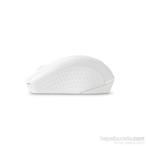 HP Wireless X3000 Beyaz Mouse (N4G64AA)