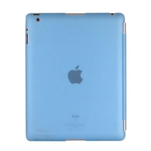 Romeca New iPad/iPad 2 Mavi Arka Kapak