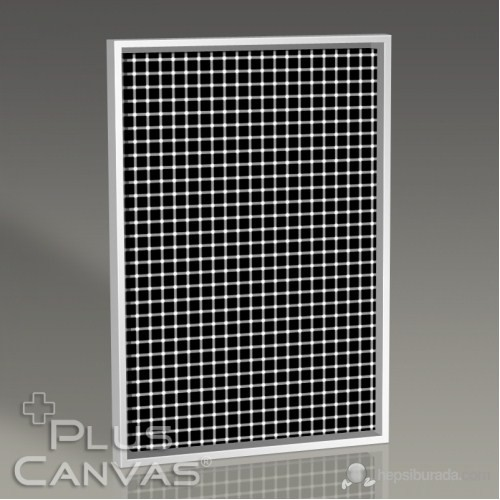Pluscanvas - White Or Black Dots Tablo