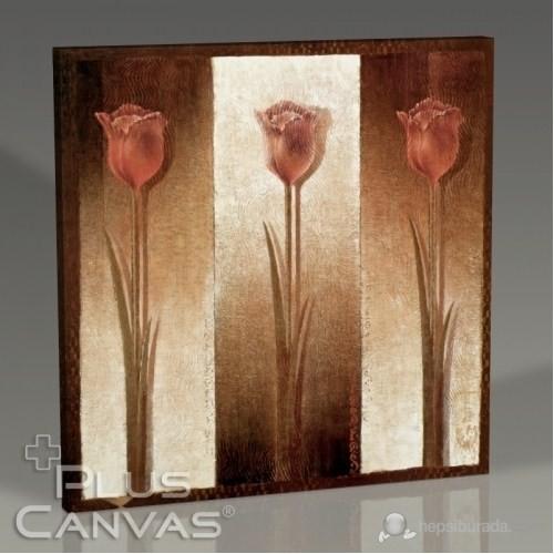 Pluscanvas - Three Tulips Tablo