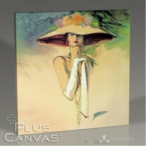 Pluscanvas - Elegant Woman I Tablo