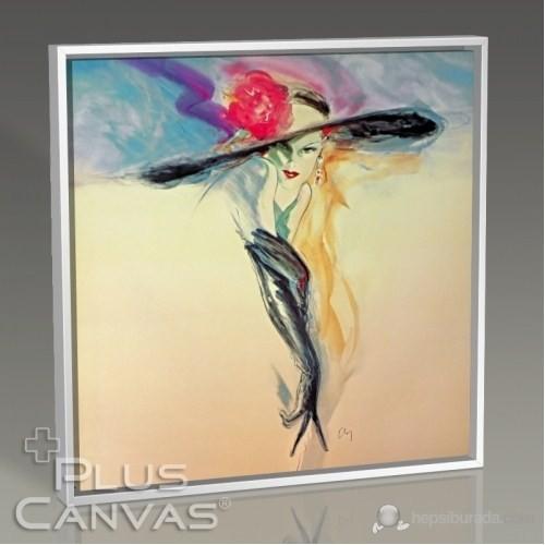 Pluscanvas - Elegant Woman Iı Tablo
