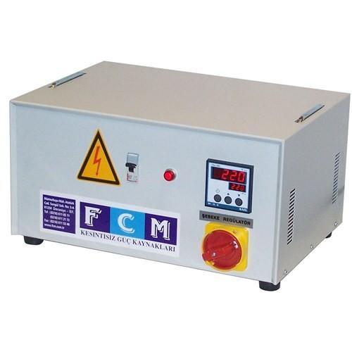 Fcm 15 Kva Regülatör Monofaze Servo Elektronik Güç Kaynağı