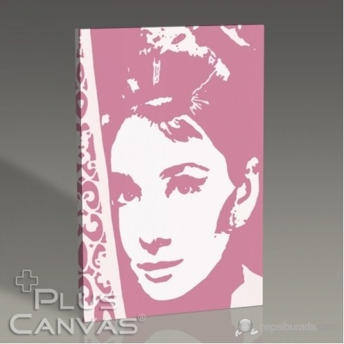 Pluscanvas - Audrey Hepburn Tablo