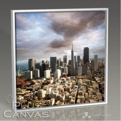 Pluscanvas - Chicago - Skyline Panorama Tablo