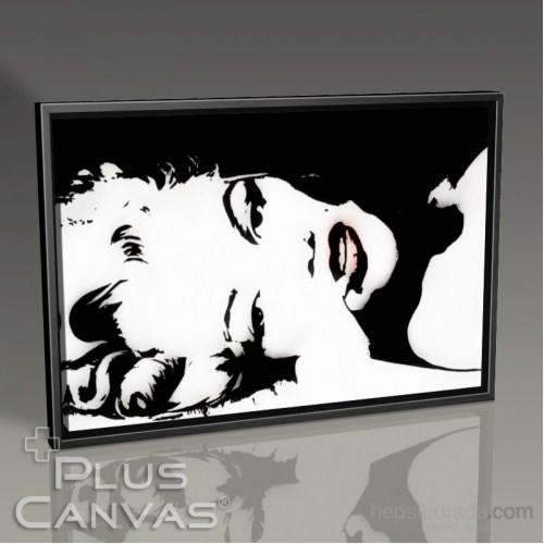 Pluscanvas - Marilyn Monroe - Reclined Pop Art Tablo