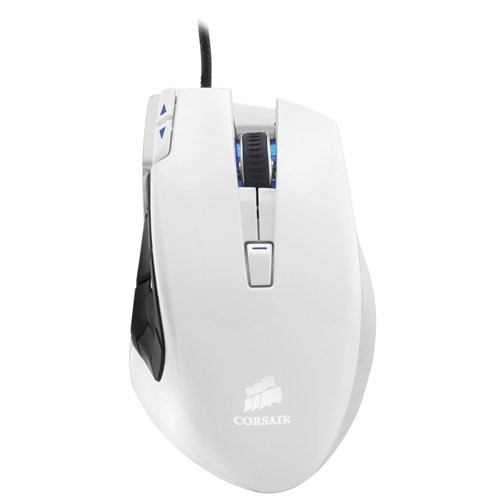 Corsair Vengeance® M95 Performance MMO and RTS Beyaz Laser Oyuncu Mouse (CH-9000026-EU)