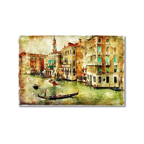 Tictac Venedik 8 Kanvas Tablo - 60X90 Cm