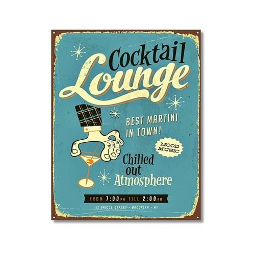 Tictac Cocktail Lounge Kanvas Tablo - 40X60 Cm