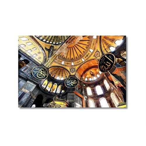 Tictac Ayasofya 4 Kanvas Tablo - 50X75 Cm