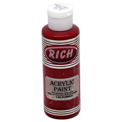Rich Akrilik Boya 130 Cc Kırmızı