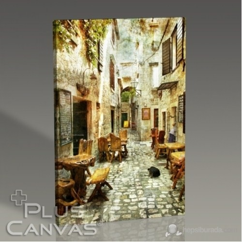Pluscanvas - Beautiful Street Tablo