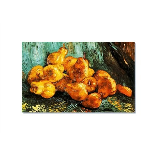 Tictac Van Gogh Armutlar Kanvas Tablo - 60X90 Cm