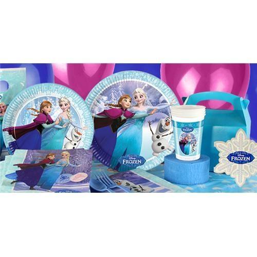 Frozen Karlar Ülkesi Doğum Günü Parti Seti - Lux
