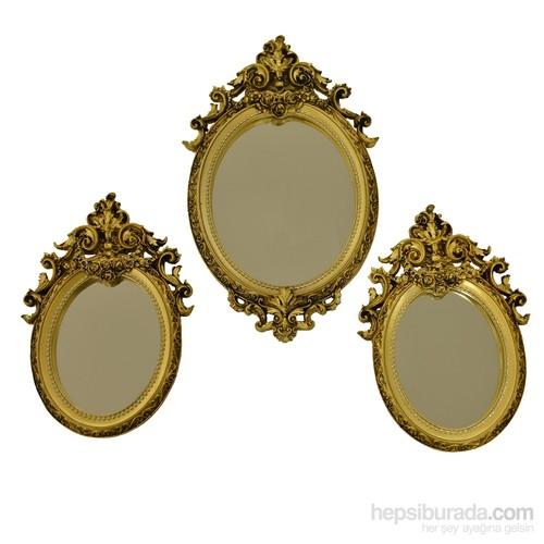 Rüyam Barok 3'Lü Ayna Takımı